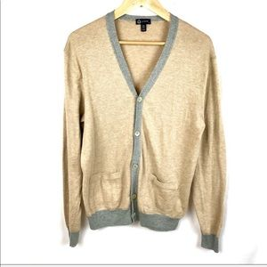J. Crew school girl v neck cardigan sweater
